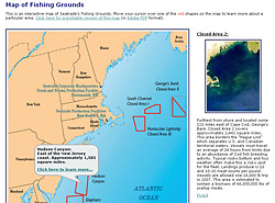 Seatrade Map of Fishing Grounds
